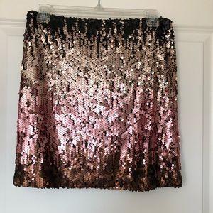 Mink Pink Sequin Skirt